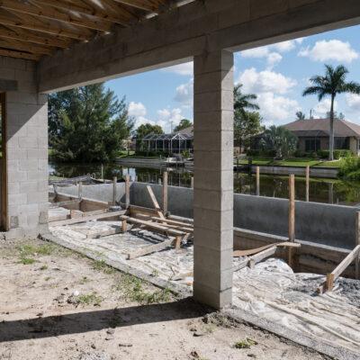 Construction Phase Villa Sunny Place Cape Coral 00004