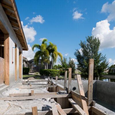Construction Phase Villa Sunny Place Cape Coral 00006