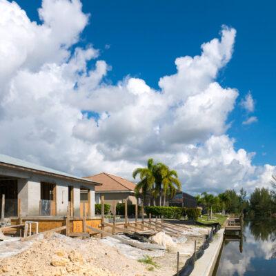 Construction Phase Villa Sunny Place Cape Coral 00009