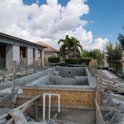 Construction Phase Villa Sunny Place Cape Coral 00011