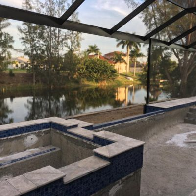 Construction Phase Model Home Cape Coral 00049