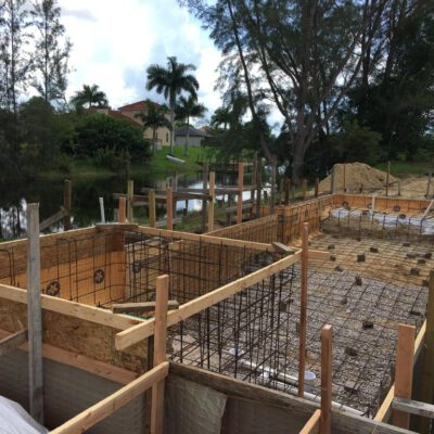 Construction Phase Model Home Cape Coral 13