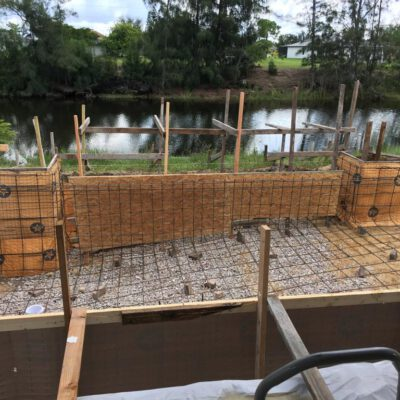 Construction Phase Model Home Cape Coral 18