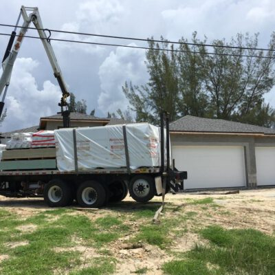 Construction Phase Model Home Cape Coral 24