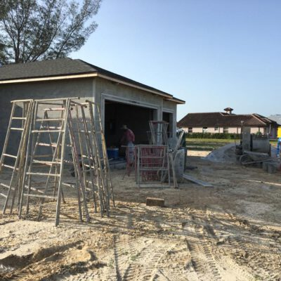 Construction Phase Model Home Cape Coral 26