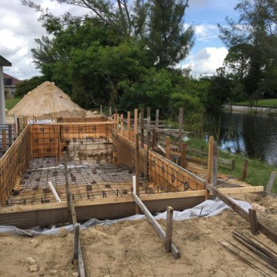 Construction Phase Model Home Cape Coral 35