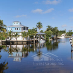 Cape Coral Florida Canal