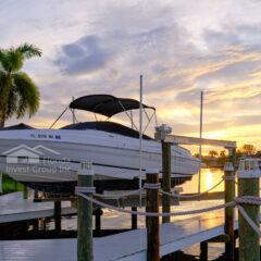 Cape Coral Florida Boat Dock